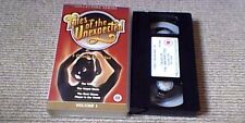 TALES OF THE UNEXPECTED VOL. 1 UK PAL VHS VIDEO 2000 Peter Cushing Ron Grainer