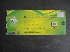 WM WC World Cup 2006 Deutschland Germany Portugal Spiel 63 Eintrittskarte Ticket