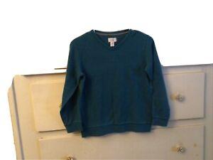 Old Navy Boys V-Neck Sweater Blue Large 10-12