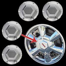 "4 New 2002-2007 GMC Envoy 17"" Wheel Center Hub Caps Lug Bolt Rim Middle Covers"