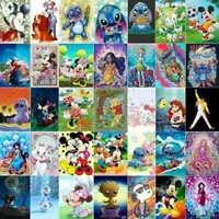 5D Character Diamond Painting Full Drill Kits Home Art Decor Gifts Festival Gift