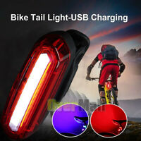 Rechargeable Bicycle Safety Cycling MTB Adult Mountain Road Bike LED Tail Light