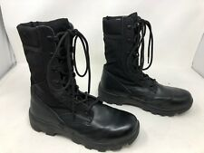 New!! Women's wide width Tactical Research TR660  Black combat boots size 6W 17T