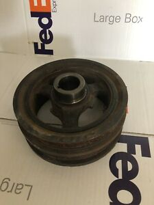 F150 Mustang 5.0 Coyote Crank Harmonic Balancer Pulley Used OEM 11 12 13 14