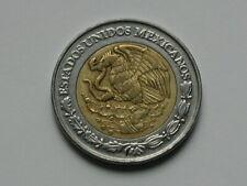 Mexico 1996 Mo 2 PESOS Bimetallic Coin with Eagle Coat of Arms