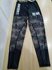 Tatami Essentials Green Camo Mens MMA BJJ Competition Spats Compression Pants