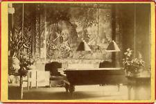 Suisse, Table de billards, ca.1870, Vintage albumen print Vintage albumen print
