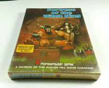 Fortress of the Witch King Avalon Hill 1984 Commodore 64 C64 NOS SEALED BIG BOX