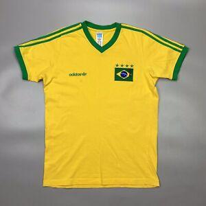 Adidas Brazil 1998 Pele Football Soccer Shirt Jersey Vintage Camiseta Kit