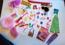 Vintage Muñeca Barbie Ropa, Zapatos y Accesorios Lote De Trabajo