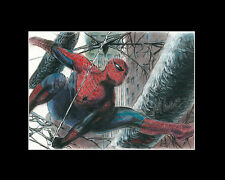 Spiderman comic book pastel drawing from artist art piacture Image