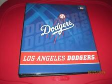 "NEW GENUINE L.A LOS ANGELES DODGERS MLB BASEBALL 3 RING 1"" BINDER ALBUM NOTEBOOK"