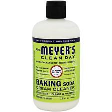 Mrs Meyers Clean Day Baking Soda Cream Cleaner, Lemon Verbena 12 oz (Pack of 2)