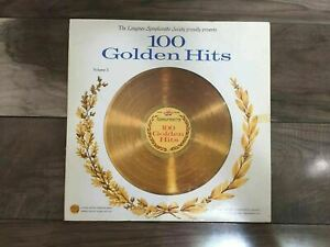Vintage Longines Symphonette Society's 100 Golden Hits Volume 2 Record Vinyl LP