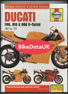 Paper 996 Ducati Motorcycle Repair Manuals Literature For Sale Ebay