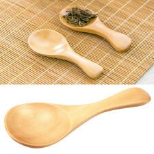 1pc Handmade Small Wooden Spoon Kitchen Cooking Utensil Tool Gifts 10*4cm