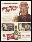 """1950 BLATZ BEER  9"""" x 12"""" Sign"""