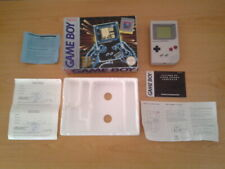 NINTENDO GAMEBOY ORIGINAL DMG-01 COMPLETA CON CAJA BOXED CIB VERSION ESPAÑOLA