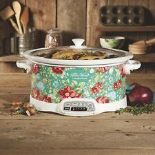 7-Quart Programmable Floral Slow Cooker Crock Pot Home Kitchen Appliance