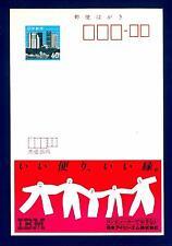JAPAN - GIAPPONE - Intero post. - 1983 - Cartolina Pubblicitaria: IBM