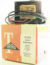 Triad A53X 2 Watt 18000 Ct Pri 600/250/50 Sec Low Level Audio Transformer Output