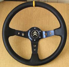 DEEP DISH Rally volant pour CITROEN SAXO VTS VTI AX ZX Xsara C2 C3 XANTIA