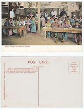 Indios niños en escuela, American Indian Reservation children at school um1925