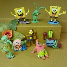 Aquarium Fish Tank Landscaping Spongebob Ornament Decoration House Aquatic Artif