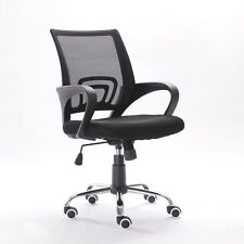 Mesh Fabric Back Gas Lift Adjustable Office Chair Swivel Seat Office Furniture