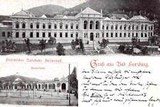 21951/ Foto Ak, Gruss aus Bad Harzburg, Städtisches Badehaus Juliushall, 1899