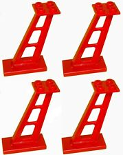 Missing Lego Brick 4476 Red x 4 Support 2 x 4 x 5 Stanchion Inclined