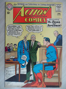 ACTION COMICS #301 Silver Age SUPERMAN, COMET the SUPER-HORSE & SUPERGIRL 1963