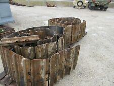 "Caterpillar D6R H T John Deere 850J K LT k 24"" rails pads 40x2 80 Dozer clipped"