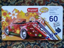 Bruynzeel Colored Pencils 60 Tin Case coloring drawing