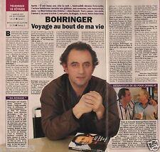 Coupure de presse Clipping 1994 Richard Bohringer  (1 page 1/2)