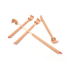 Bamboo Telescopic Back Scratcher Extendable Wooden Back Itching Self Massager  Z