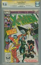 X-men #171 CGC 9.6 SS X3 Claremont, Simonson & Wiacek, Rogue Joins X-men