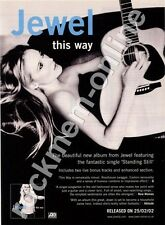 Jewel This Way LP Advert