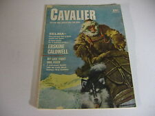 Vintage CAVALIER magazine NOV 1957 ERSKINE CALDWELL; POKER HUSTLER; VIKKI DOUGAN