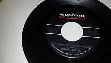 BREND CARTER GEORGE JONES The Lonesome End / Just An Average MUSICOR 1375 45