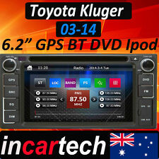 Toyota Kluger 03-14 Head Unit GPS Sat Nav Car Radio Stereo DVD Bluetooth Aus
