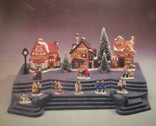* For Snow Village/Heritage Village - Share The Joy Granite Finish Base - Nib *