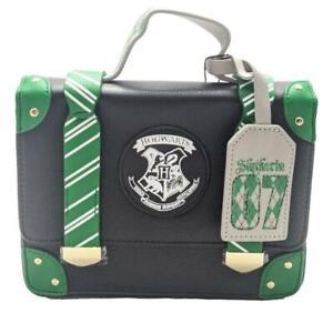 Harry Potter Slytherin Hogwarts House Handbag 3 Womens Shoulder Bag