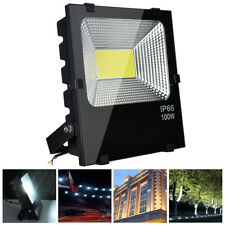 100W LED Flood Light Cool White Outdoor Security Spot Lamp 300 Watt Equivalent