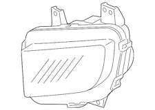 Genuine Honda Light Unit L Daytime Running 33251-SJC-A01