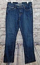 Levi's Womens Jeans Size 8 L  515  Dark Wash Mid Rose Boot Cut   (w-571)
