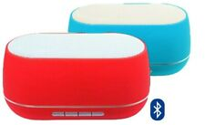 Red Long Life Wireless Bluetooth Portable Speaker with Tough Design