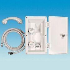 CARAVAN / MOTORHOME - Whale External Shower System  & Lock -  White – RT2662