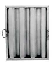 "Update Hf-1620 16"" x 20"" Stainless Steel Hood Filter"