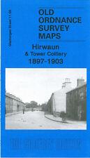 OLD ORDNANCE SURVEY MAP HIRWAUN & TOWER COLLIERY 1897-1903